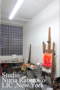 Studio Nuria Rabanillo New York artist 2