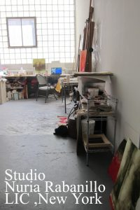 Studio Nuria Rabanillo New York artist