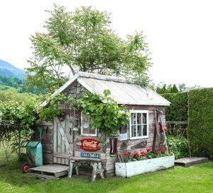 cabaña en el jardin 5