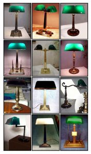 Diferentes modelos vintage de Esmerelite