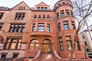 Entrada Brownstone en Park Slope (Blooklyn,NY)