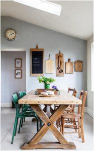 mesa madera rustica