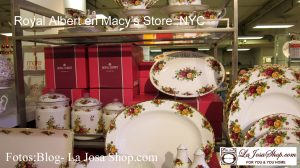 Royal Albert en Macy's New York