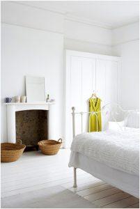 cama forja blanca