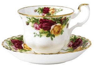 royal albert Old Country Roses taza con plato