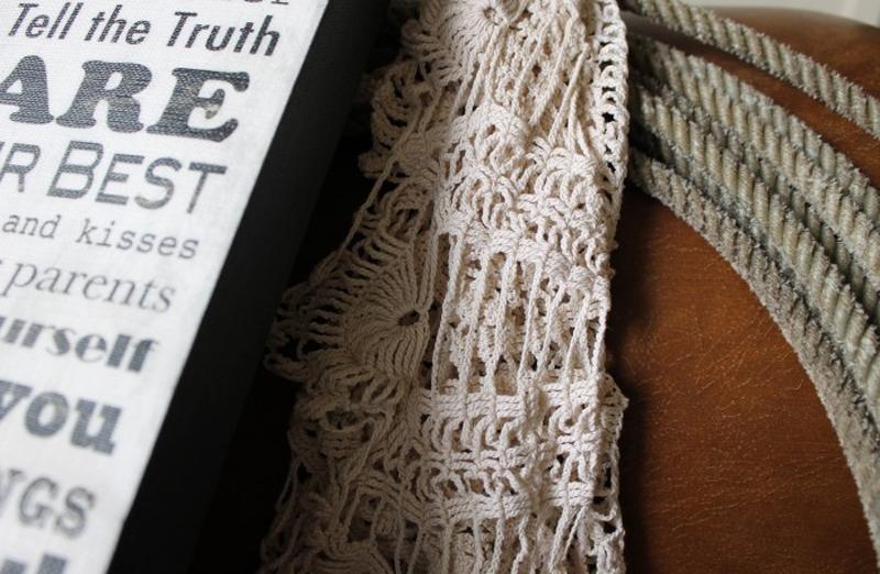 ganchillo o crochet vintage en la josa shop