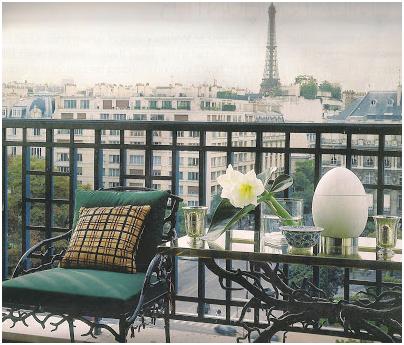 Casa en Paris de Pierre Delbée Director de Maison Jansen