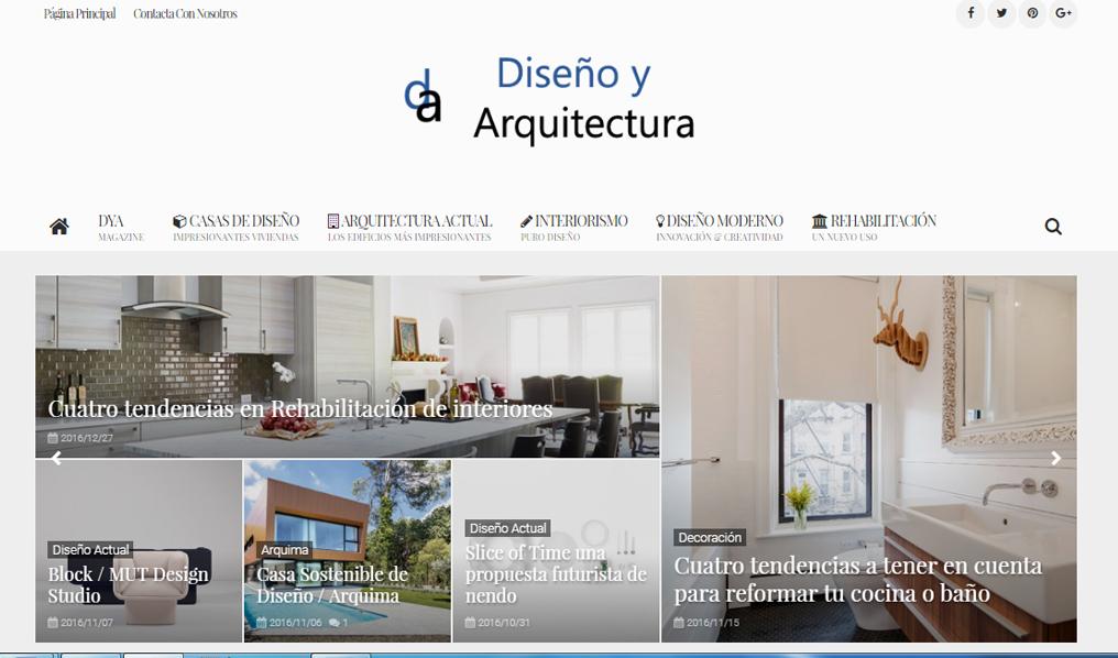 DISEÑO Y ARQUITECTURA blog la josa shop