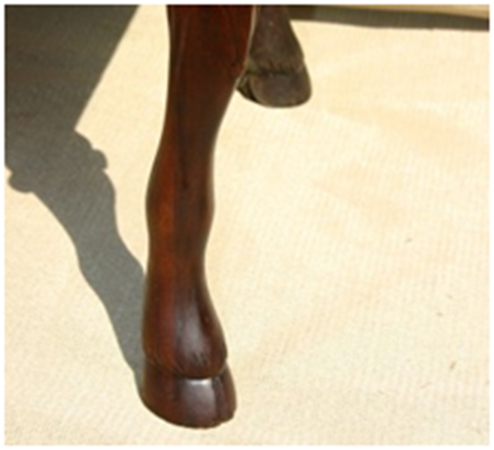 Hoof foot furniture la josa antiques