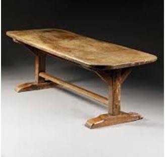 Trestle Foot furniture la josa antiques