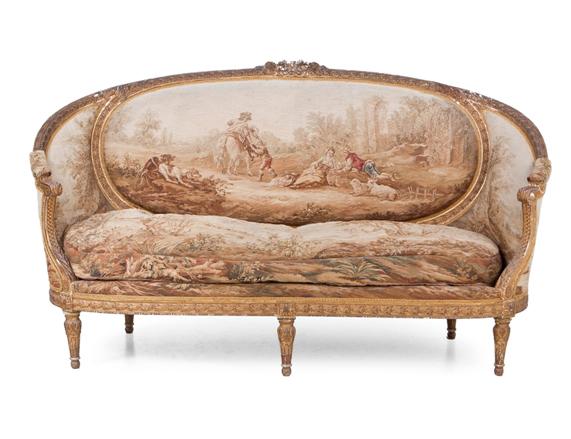 sofa estilo luis xvi en la josa shop