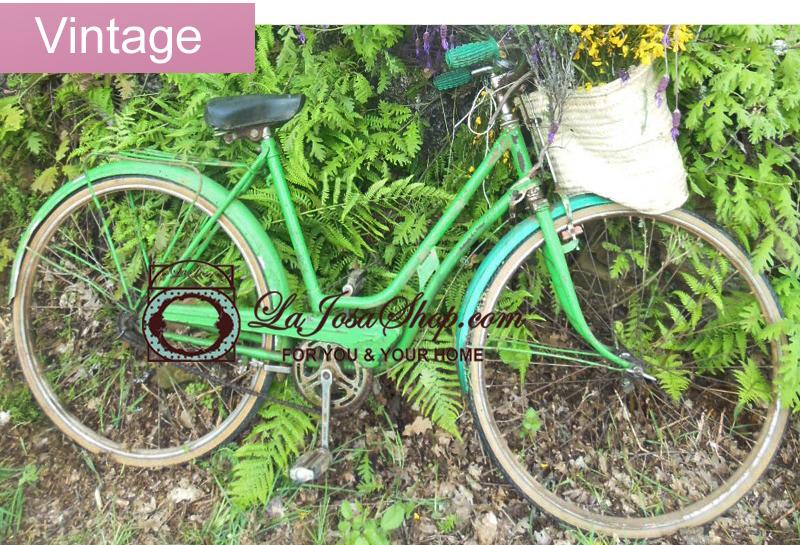 bici antigua verde la josa vintage 2