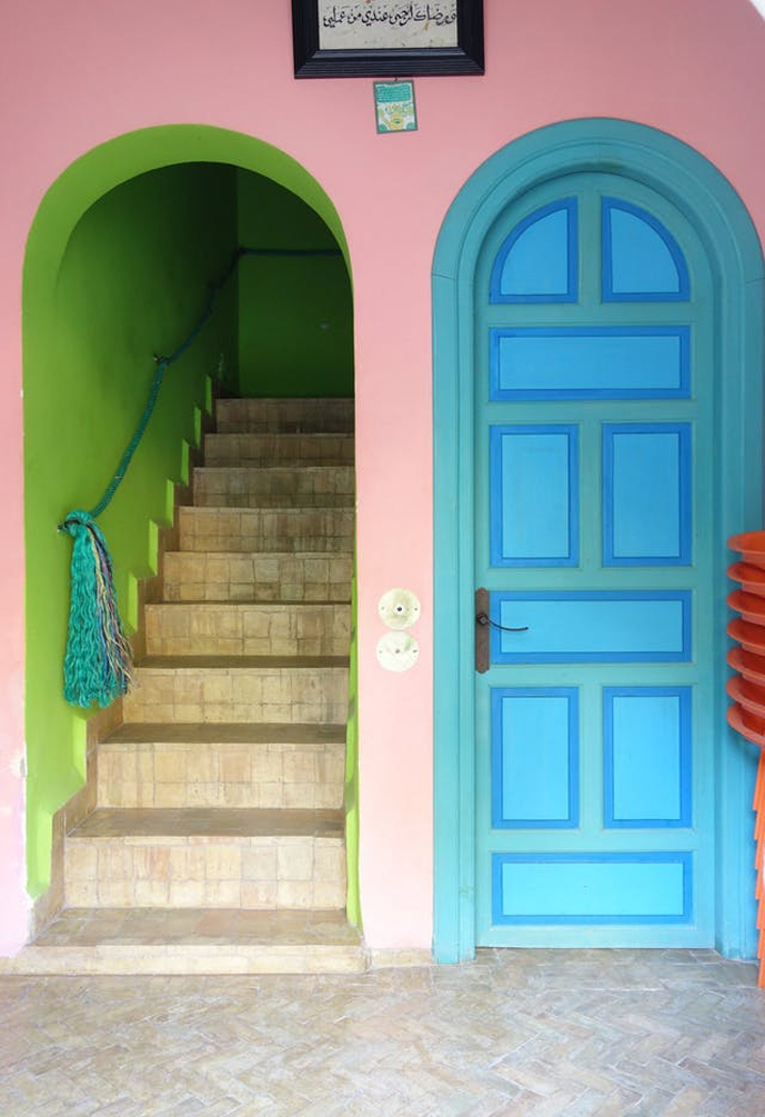 puerta de arco estilo mediterraneo blog la josa shop