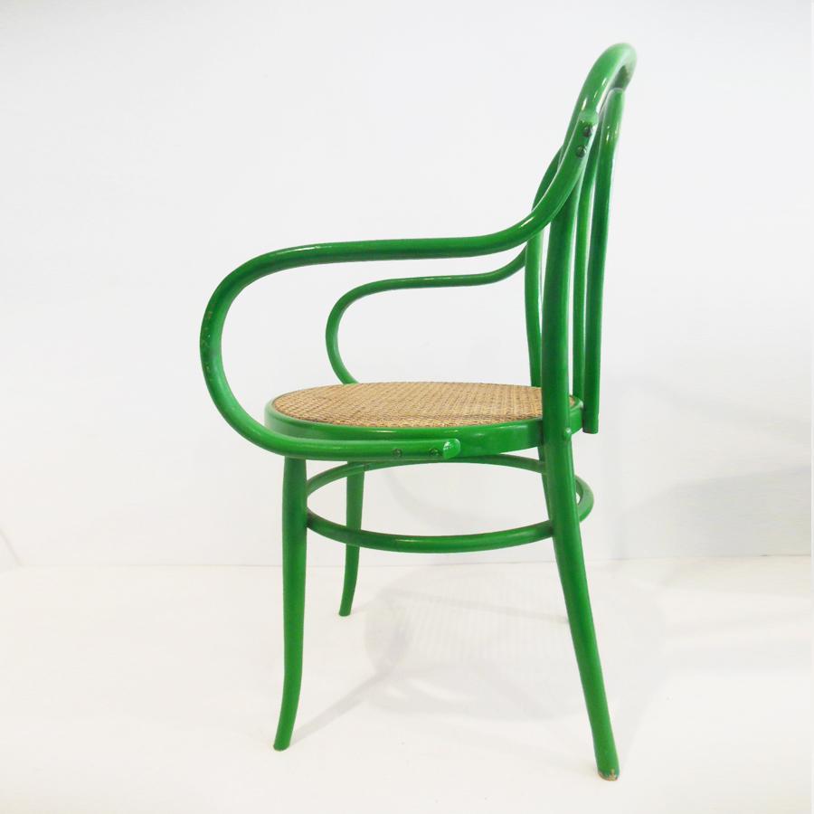 sillas vintage estilo thonet con rejilla