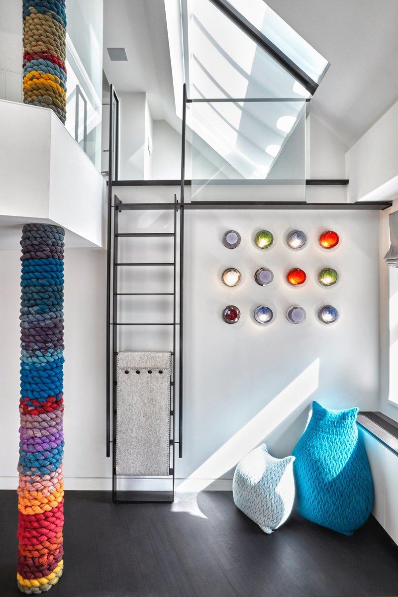 decoracion con arte apartamento tribeca