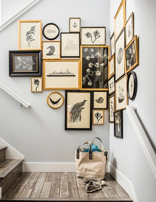 arte y marcos en la pared 13