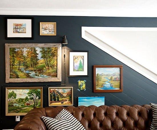 arte y marcos en la pared 4