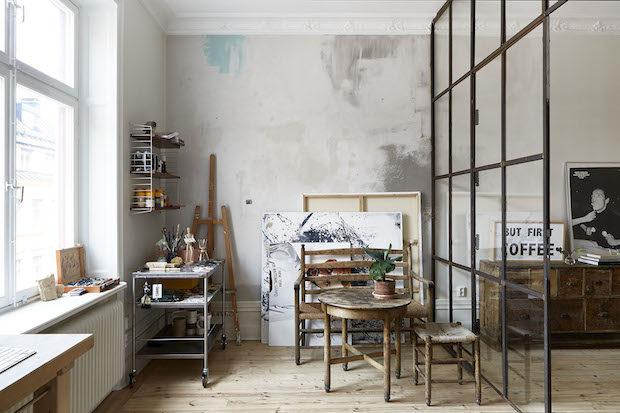 casa-studio de artista sueca 8